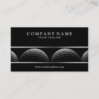 Classy Golf Business Card