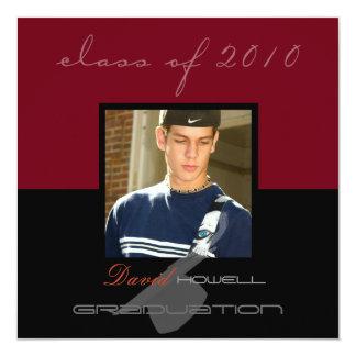 Classy Graduation 2010/Cap Custom Invitations