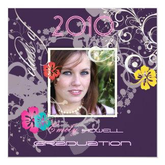 Classy Graduation 2010/Cap/Pearl Swirls Card