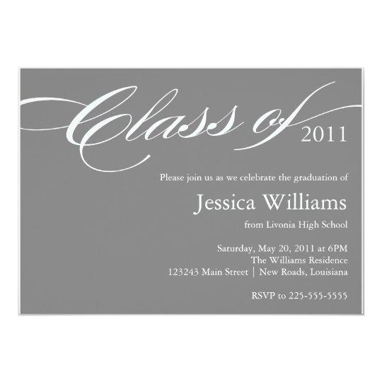 Classy Graduation Card