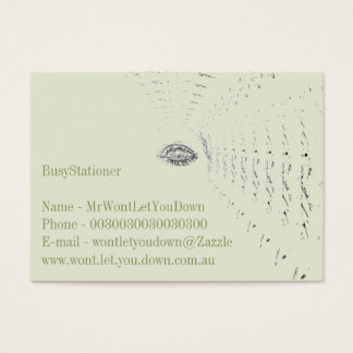 Classy Green Business Card