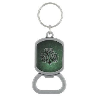 Classy grundge Irish lucky shamrock Bottle Opener