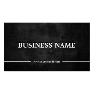 Classy Grunge Dark DJ Music Double-Sided Standard Business Cards (Pack Of 100)