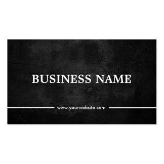 Classy Grunge Dark Storyteller Double-Sided Standard Business Cards (Pack Of 100)