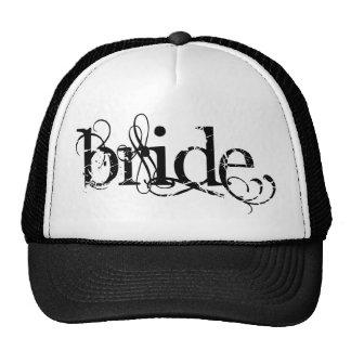 Classy Grunge Wedding - The Bride - B&W Trucker Hat