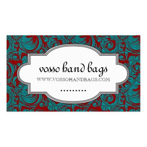 Classy Handbag Etsy Business Card