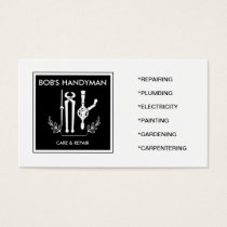 Classy Handy Tools Handyman businesscard Business Card