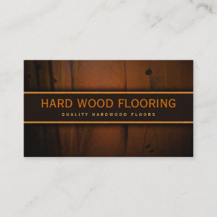 Hardwood Floor Business Cards Zazzle - Fake wood floor sticker
