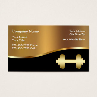 Fitness Club Business Cards & Templates | Zazzle