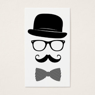 Classy hipster business card