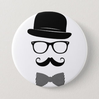 Classy hipster button