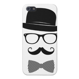 Classy hipster case for iPhone SE/5/5s