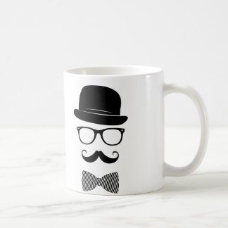 Classy hipster coffee mug