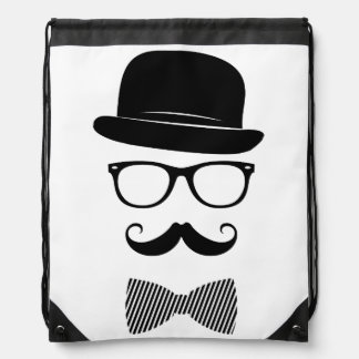 Classy hipster drawstring backpack