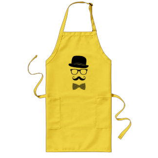 Classy hipster long apron