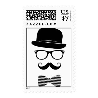 Classy hipster postage