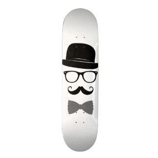 Classy hipster skateboard