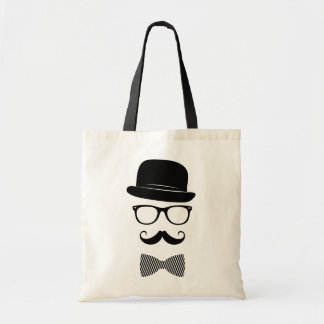 Classy hipster tote bag