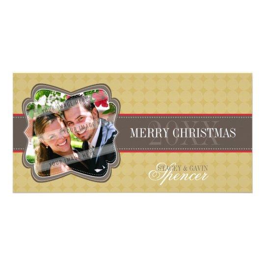 CLASSY HOLIDAY PHOTOCARD :: decorativeband 4 Card
