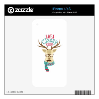 Classy Holiday Skin For The iPhone 4S