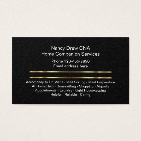 Classy home companion cna business card zazzle classy home companion cna business card colourmoves
