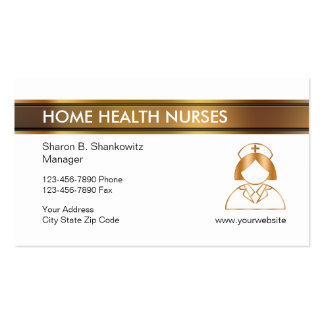 Classy Home Health Business Cards