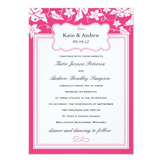 Wedding invitation templates zazzle gallery invitation for Wedding invitation template for sale