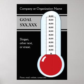 Classy in Black Goals Poster