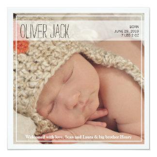 Classy Intro | Baby Announcement