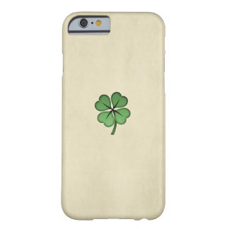 Classy Irish Lucky Shamrock Barely There iPhone 6 Case