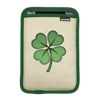 Classy Irish Lucky Shamrock iPad Mini Sleeve