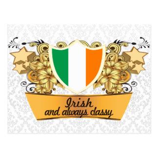 Classy Irish Postcard