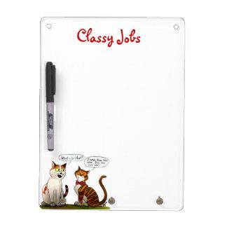 classy jobs white-board dry erase board