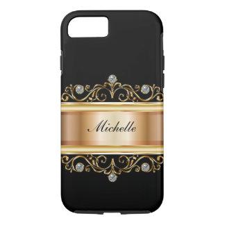 Classy Ladies Monogram Bling iPhone 7 Case