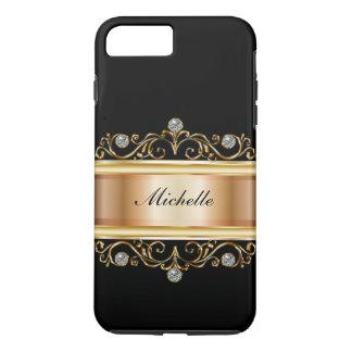 Classy Ladies Monogram Bling iPhone 8 Plus/7 Plus Case