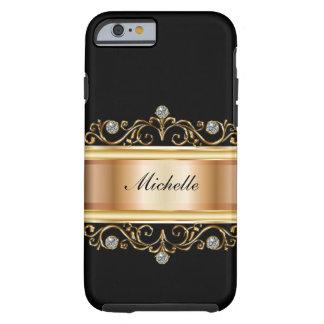Classy Ladies Monogram Bling Tough iPhone 6 Case