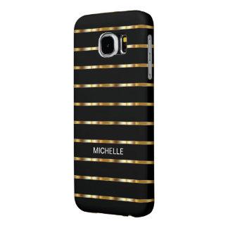 Classy Ladies Monogram Samsung Galaxy S6 Case