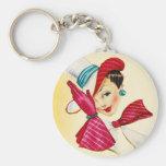 Classy Lady Keychain