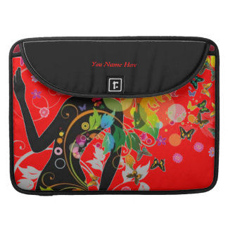 Classy Lady sleek designer sleeve. MacBook Pro Sleeve