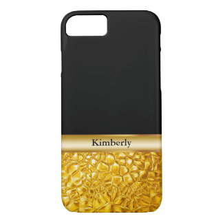Classy Luxury Gold Look iPhone 8/7 Case