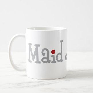Classy Maid of Honor Classic White Coffee Mug