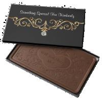 Classy Marry Me Jewel Surprise 2 Pound Milk Chocolate Bar Box