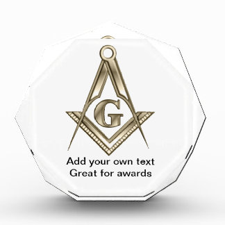 Classy Masonic Award