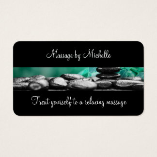 Classy Massage Business Cards