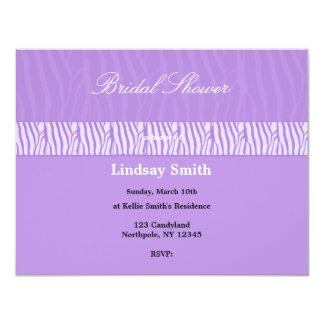 """Classy Mauve Bridal Shower Invitation 4.25"""" X 5.5"""" Invitation Card"""