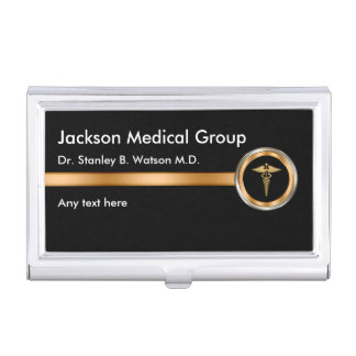 Classy Medical Business Card Cases