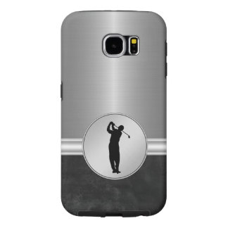 Classy Mens Golf Theme Samsung Galaxy S6 Case