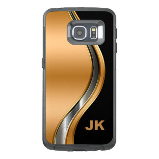 Classy Men's Monogram OtterBox Samsung Galaxy S6 Edge Case