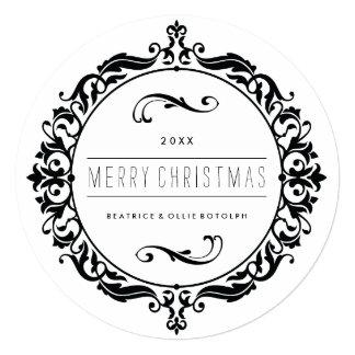 Classy Merry Christmas Photo Card