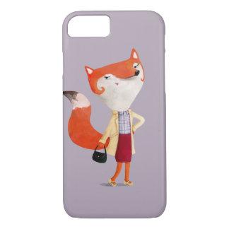 Classy Mod Fox Girl iPhone 8/7 Case